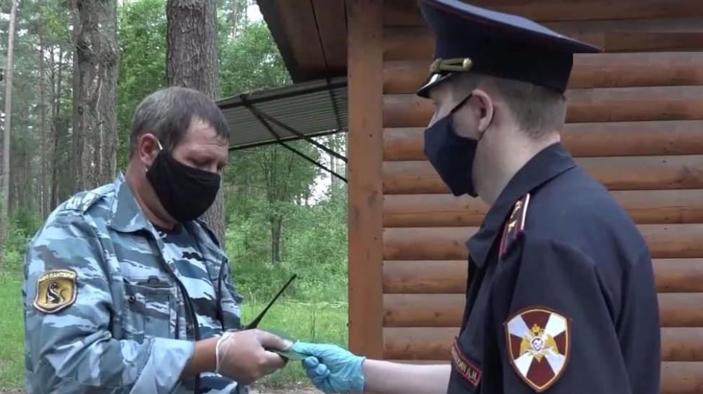 В Брянской области росгвардейцы оценили безопасность детских лагерей
