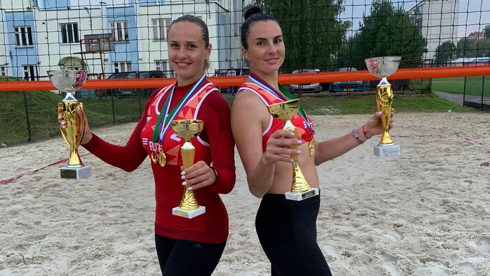 Женский дуэт из Брянска победил на чемпионате ЦФО по пляжному волейболу