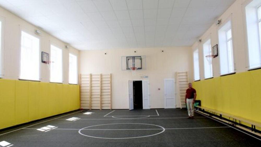 В брянском лицее № 2 спортзал обновили за 1,7 миллиона рублей