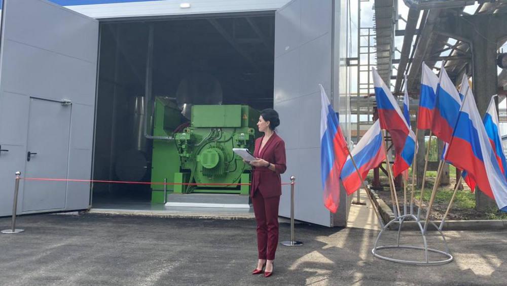 В Клинцах провели запуск второй очереди энергоцентра ТЭЦ