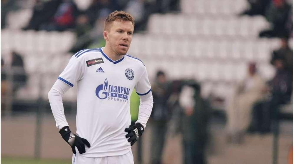 Брянский футболист Сергей Терехов оценил свой дебют в сборной России