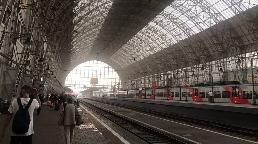 Брянские пассажиры стали очевидцами пожара на Киевском вокзале Москвы