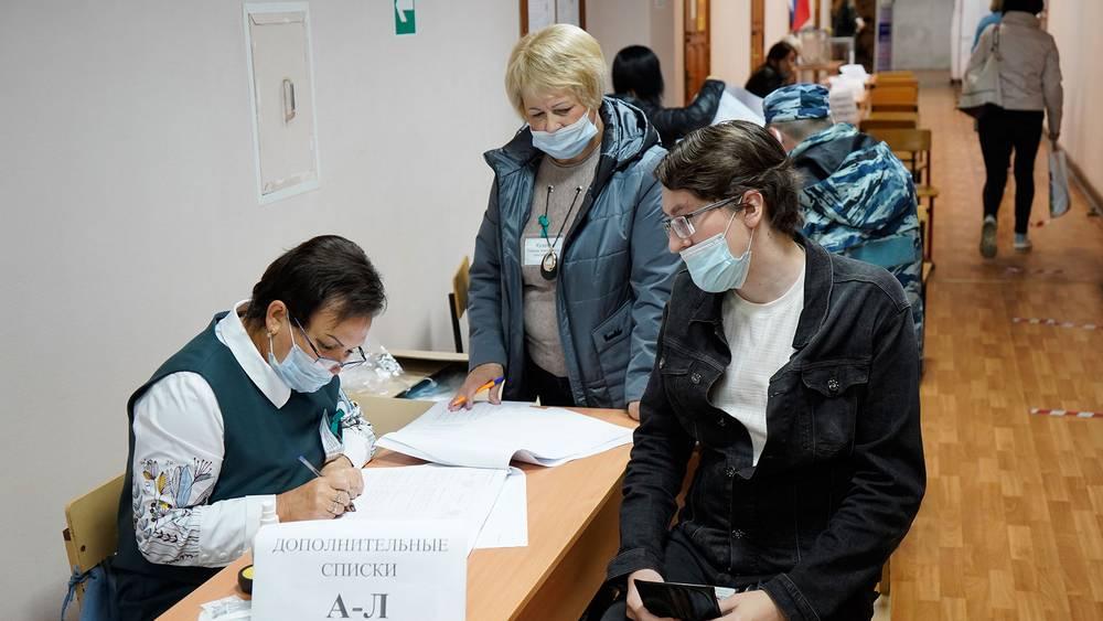 В Брянске во второй день зафиксирована очень высокая явка избирателей