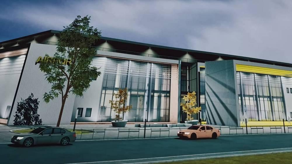 Депутат Николай Валуев представил эскизы будущего брянского аэропорта