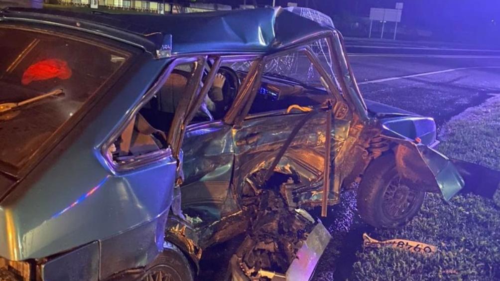 Под Брянском юный водитель ВАЗ врезался в Hyundai и ранил 18-летнего парня