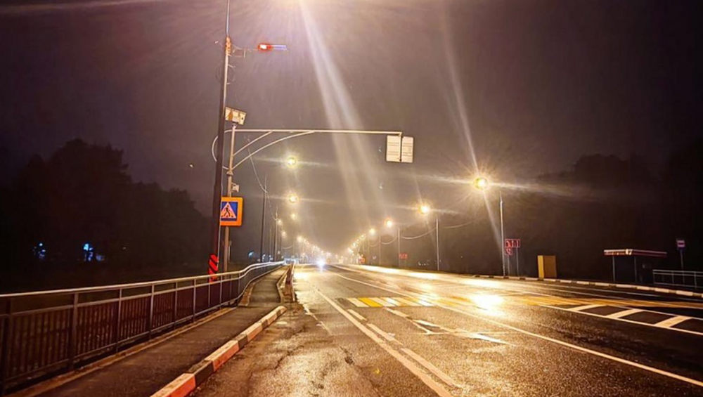 На опасном участке дороги Брянск – Новозыбков установили «шериф-балку»