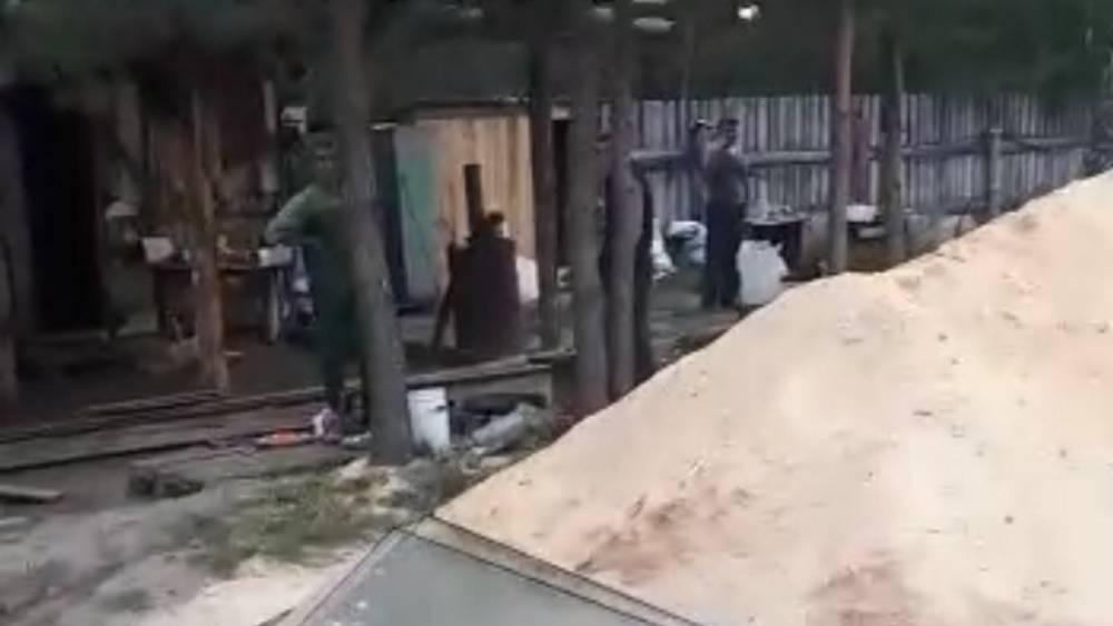 Появилось видео о тайном заводе мигрантов под Брянском в Навлинском районе