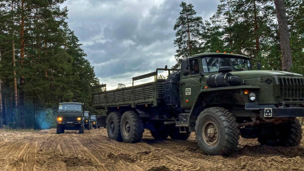 Войска вернулись в Брянскую область после маневров «Запад-2021»