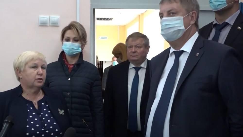 Брянский губернатор Александр Богомаз осмотрел очистные и школу в Рогнедине