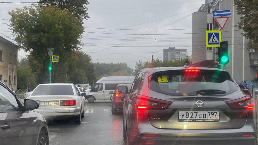 Житель Брянска назвал водителей баранами на перекрестках