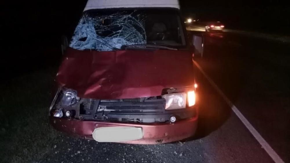 На брянской трассе водитель автомобиля Ford сбил насмерть пешехода