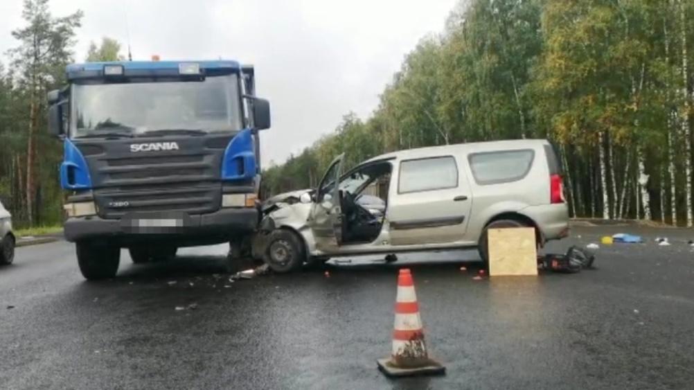 В Новозыбковском районе в ДТП с тремя автомобилями погиб 60-летний водитель