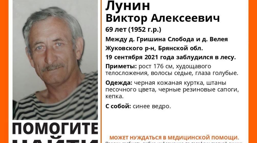 В Брянской области пропавшего 69-летнего грибника Виктора Лунина нашли погибшим