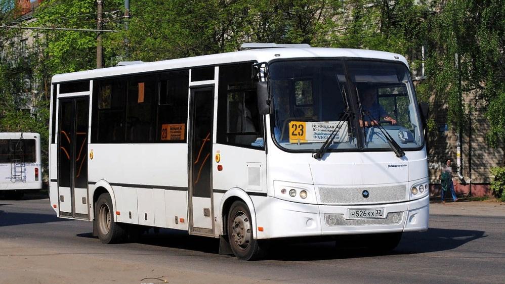 В Брянске автобус № 23 по выходным будет ходить по изменённому расписанию