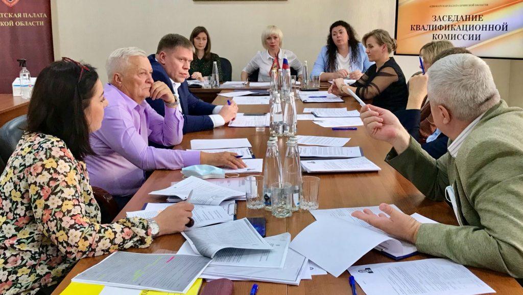 Брянская палата адвокатов пополнится 7 новыми юристами