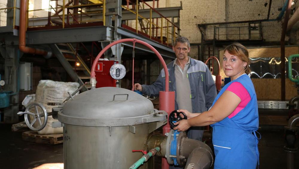 В Комаричском районе после модернизации запустили в работу сахарный завод