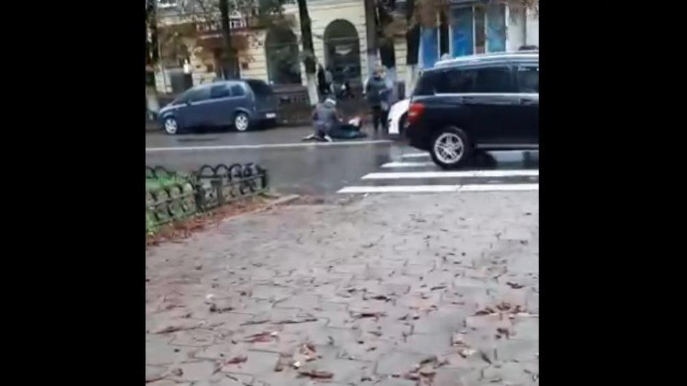 В Брянске пенсионерку на «зебре» сбила невнимательная автомобилистка