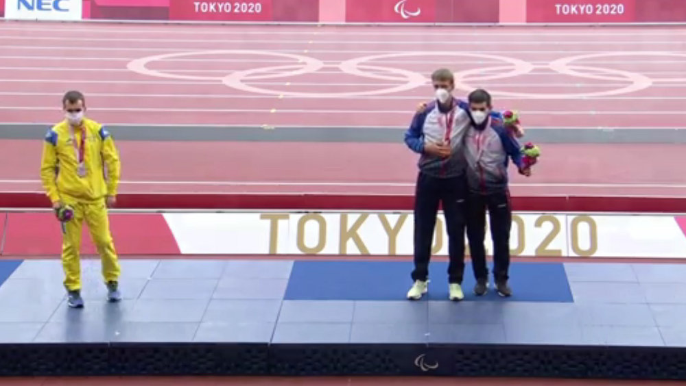 Брянский паралимпиец Артём Калашян завоевал вторую бронзовую медаль на Играх в Токио