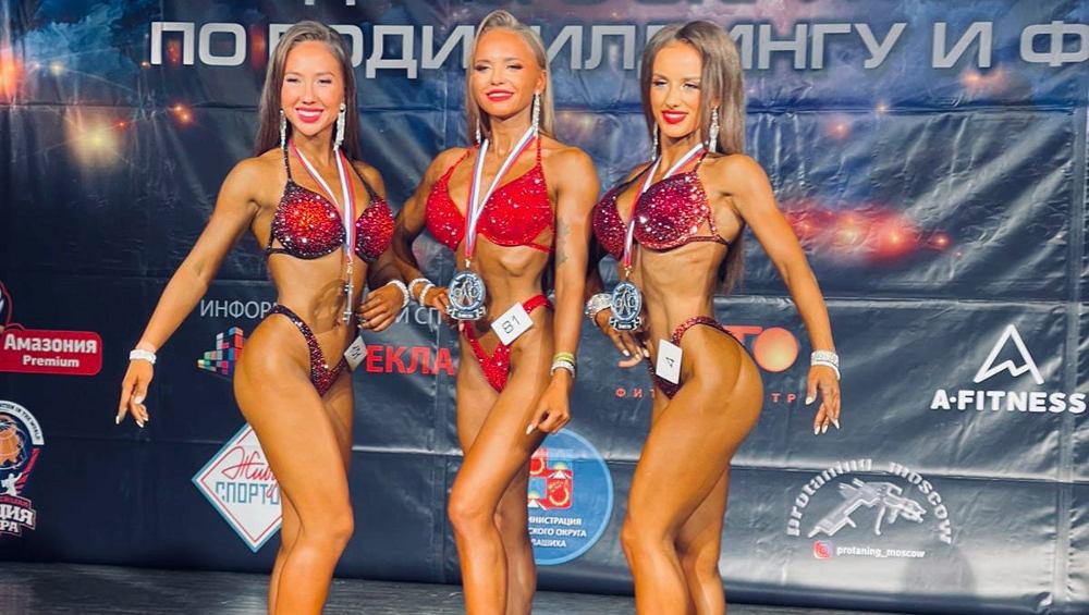 Брянские культуристки заняли первые места на чемпионатах в Калуге и Балашихе