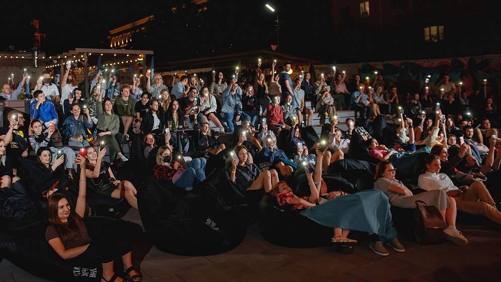 Онлайн-кинотеатр KION представляет Фестиваль уличного кино в Брянске