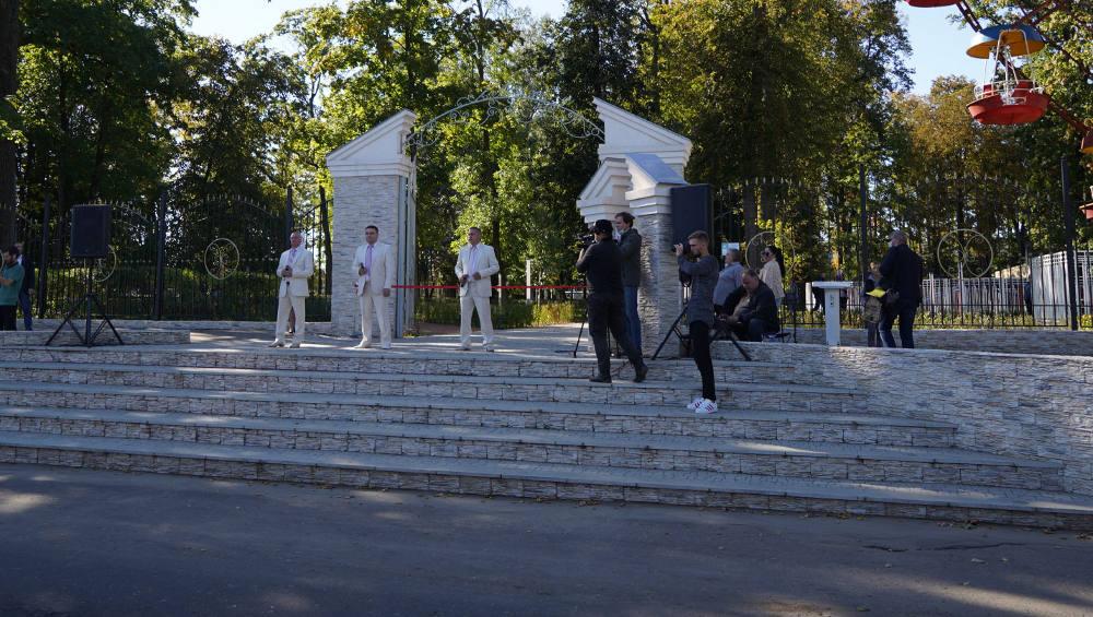 Старейший парк в Новозыбкове обновили в этом году на 10 миллионов рублей