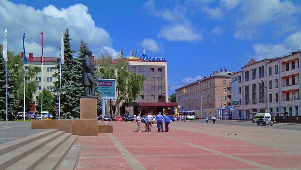 В Брянске отремонтируют площадь Ленина и фонтан на Кургане Бессмертия