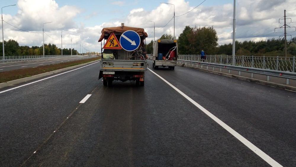 Для автобусов в Брянске на новой дороге появится первая выделенная полоса