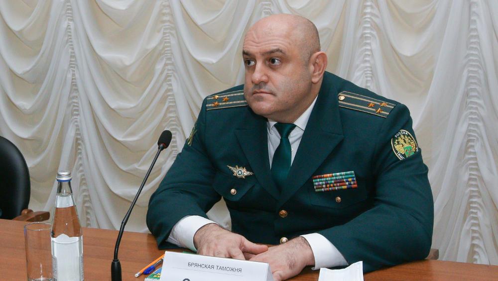 Брянскую таможню возглавил уроженец Цхинвала Сергей Санакоев