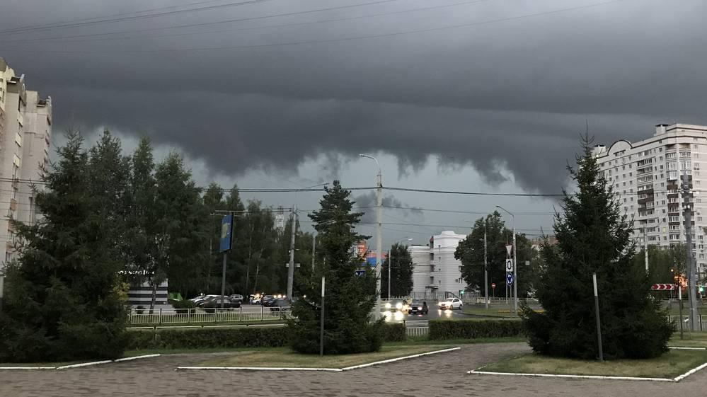 Ночью в Брянской области пройдет умеренный дождь