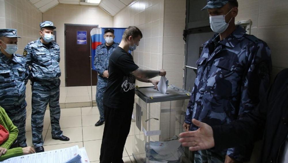 В СИЗО Брянской области проголосовали около 500 заключенных