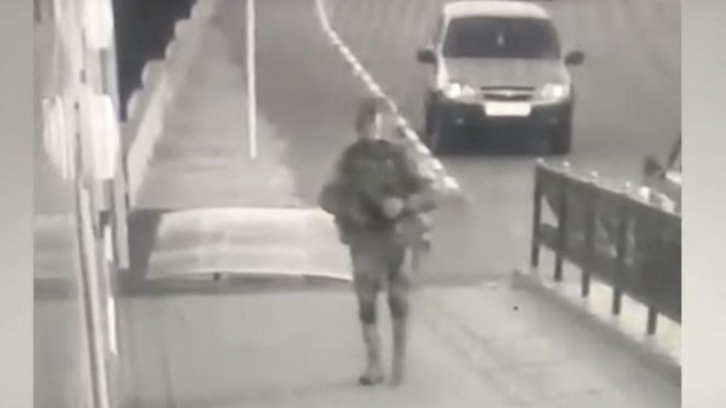 В Воронежской области неизвестный атаковал отдел полиции