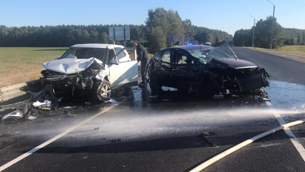 Под Брасовом автомобилист без «прав» устроил ДТП с 2 пострадавшими