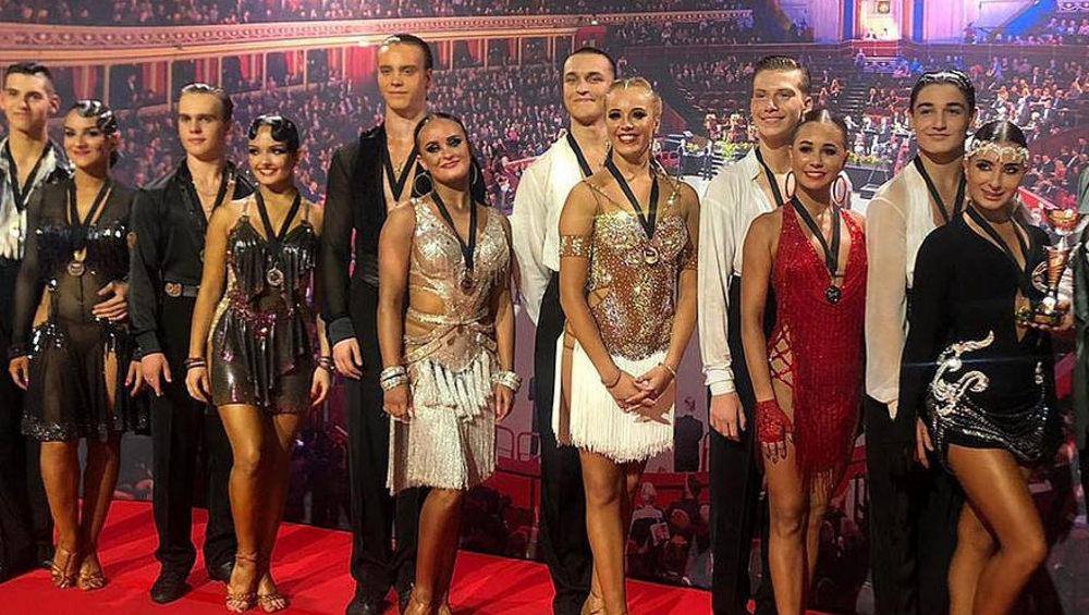 Брянские танцоры успешно выступили на международном турнире в Лондоне