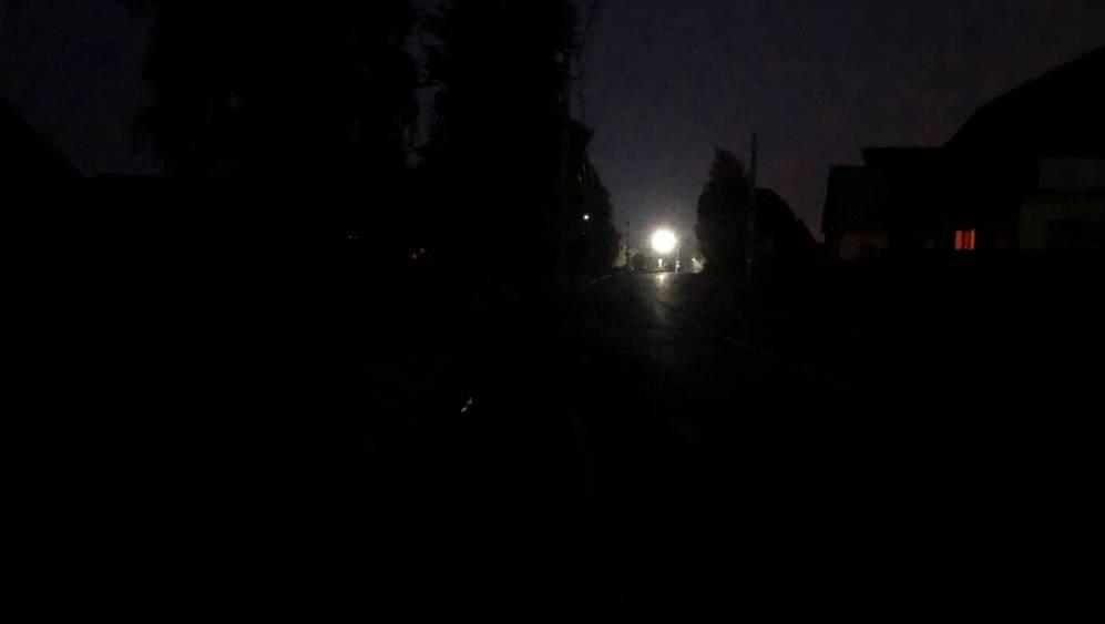 Пригородный брянский поселок Ивановка стал пугать жителей темнотой