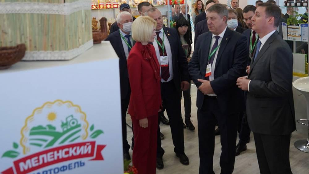 Брянскую область наградили 71 медалью на выставке «Золотая осень-2021»