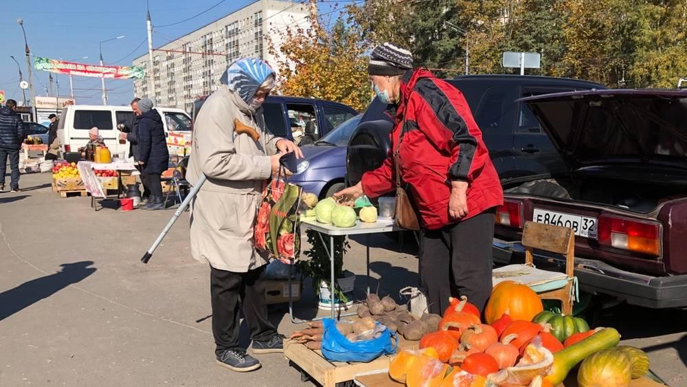 Работу овощных ярмарок в Брянске могут продлить после 30 октября