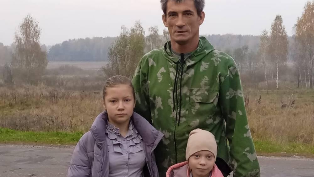 В Брянске рассказали о воспитывающем 4 детей отце-одиночке