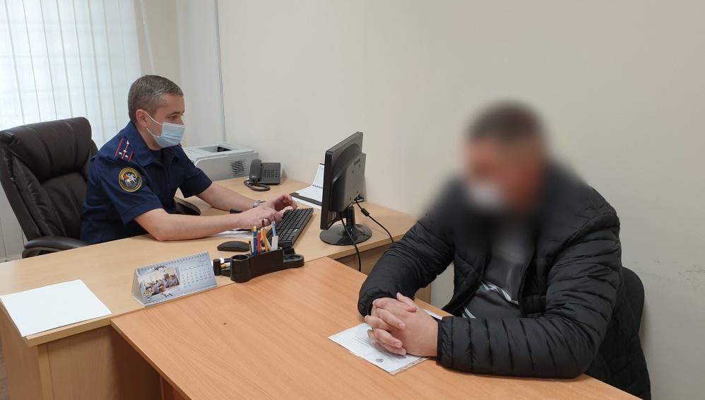 В Климове начальник отдела участковых задержан за превышение полномочий