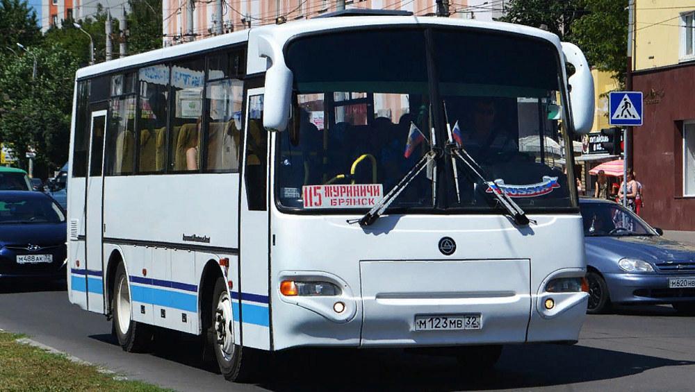 В Брянске с 26 октября запустят удлиненный автобусный маршрут № 115