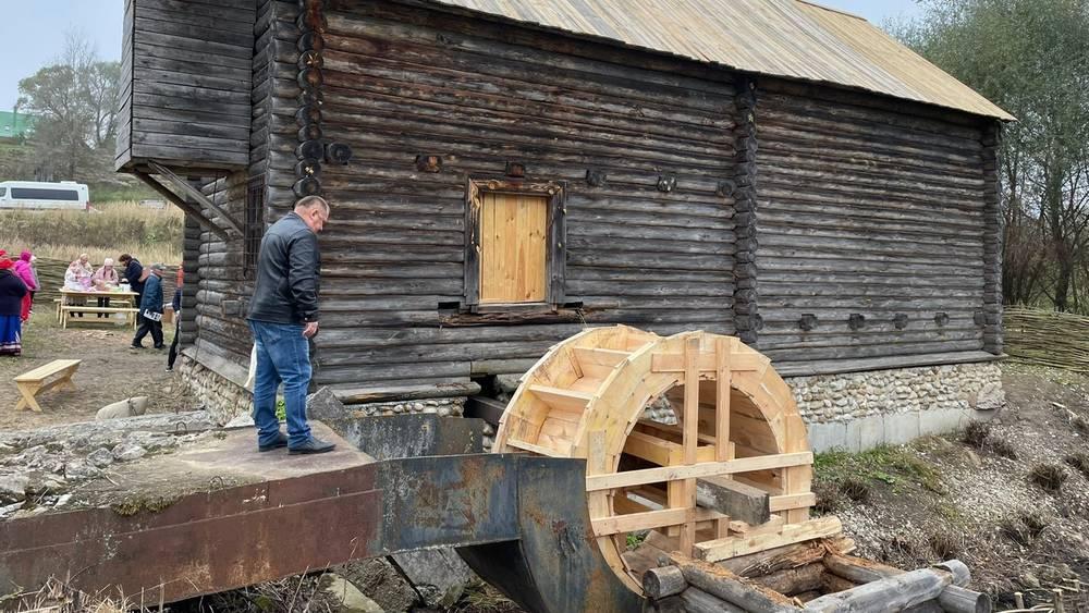 В музее-заповеднике «Овстуг» Брянской области открылась водяная мельница