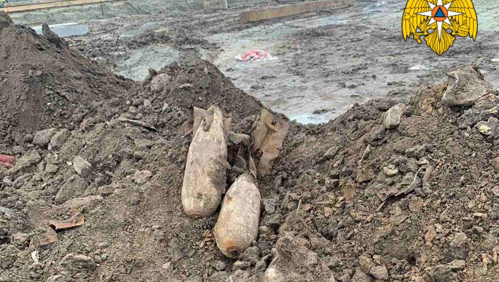 В старом аэропорту Брянска нашли еще две авиабомбы времен войны