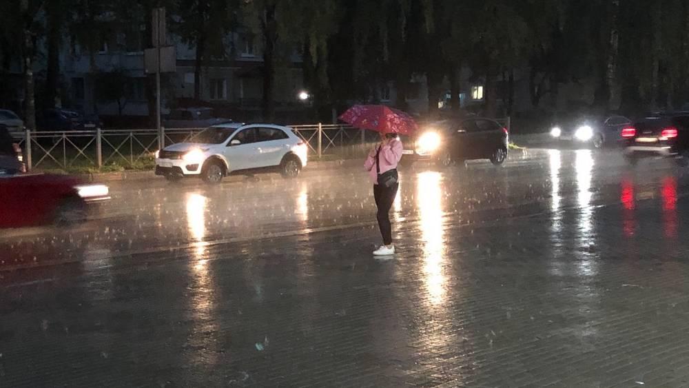 В Брянской области водителей призвали не садиться за руль из-за дождей