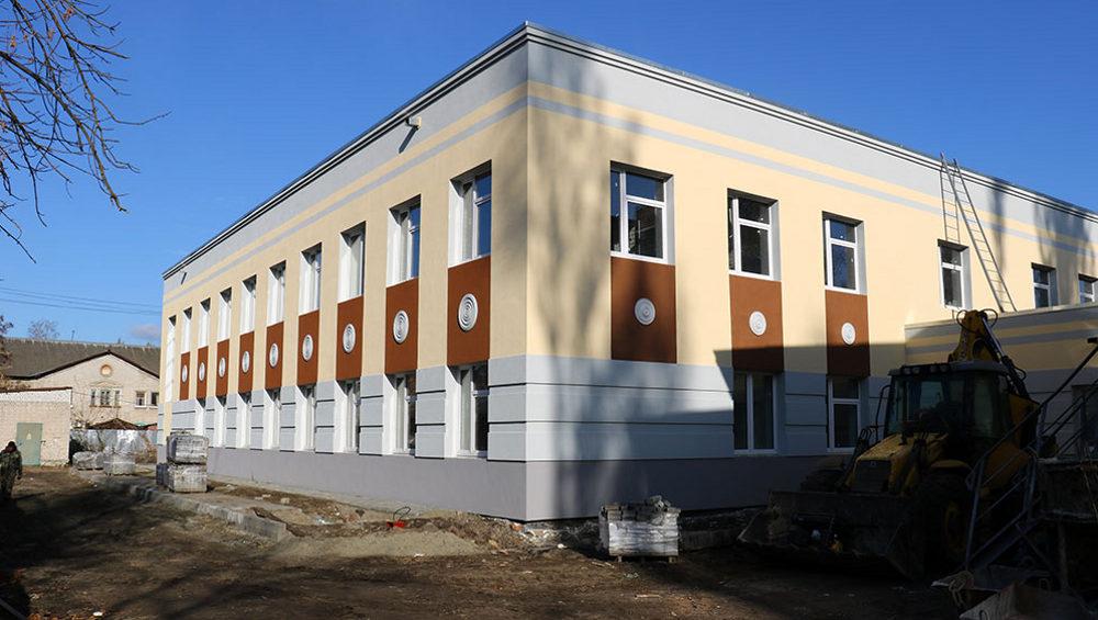 Новый корпус школы искусств № 3 в Брянске подключили к тепловым сетям