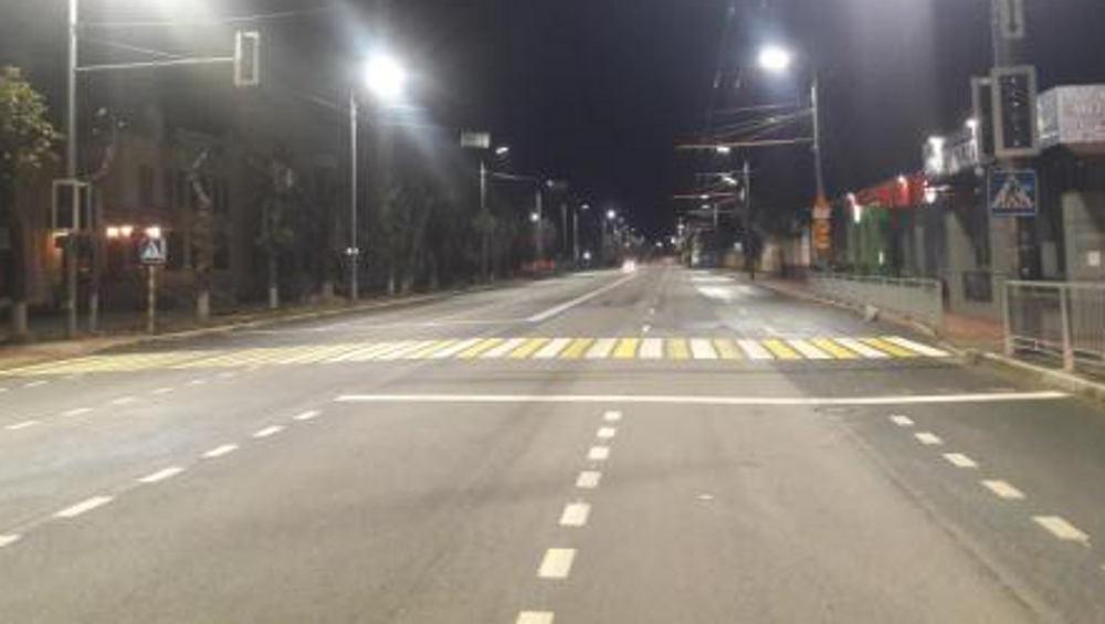 В Брянске на улице Ульянова автомобилист на пешеходном переходе сбил женщину