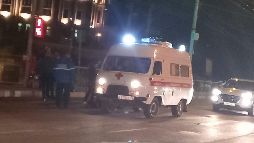 В Брянске на пешеходном переходе возле баптистского храма сбили женщину