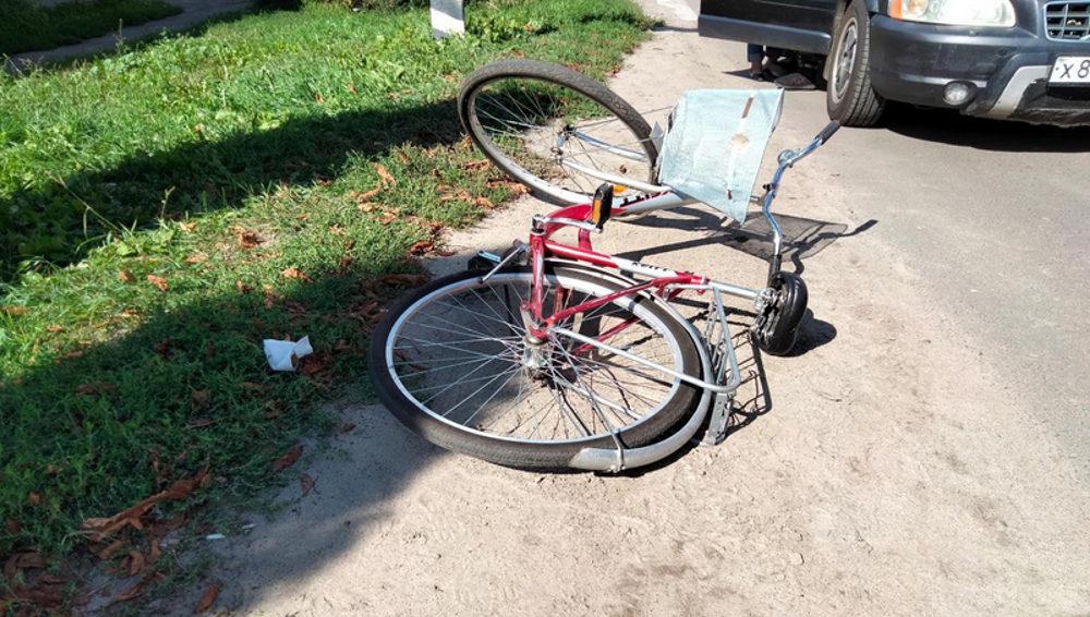 С начала осени на дорогах Брянской области получили травмы 9 велосипедистов