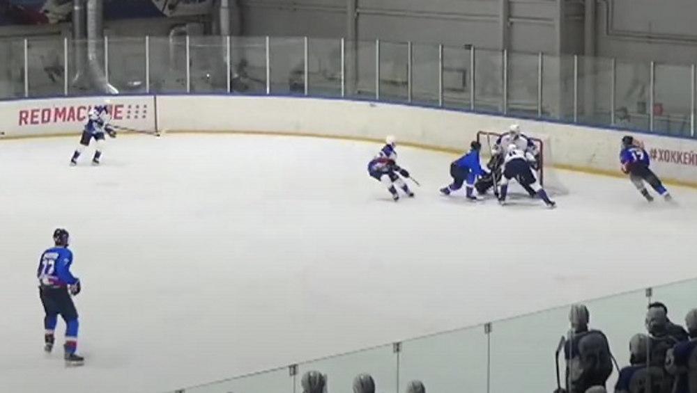 Брянские хоккеисты на своем льду проиграли белгородской команде