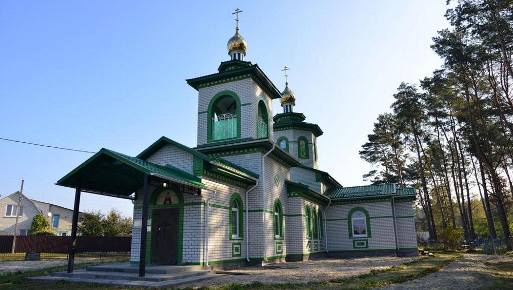 Под Брянском в Нетьинке митрополит Александр освятил новый храм