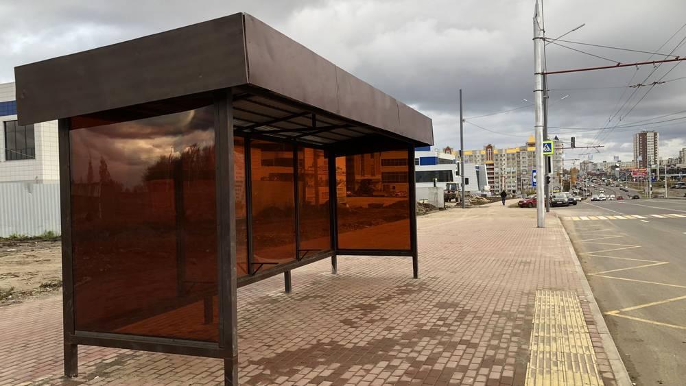 В Брянске возле Дворца единоборств появились новые остановки