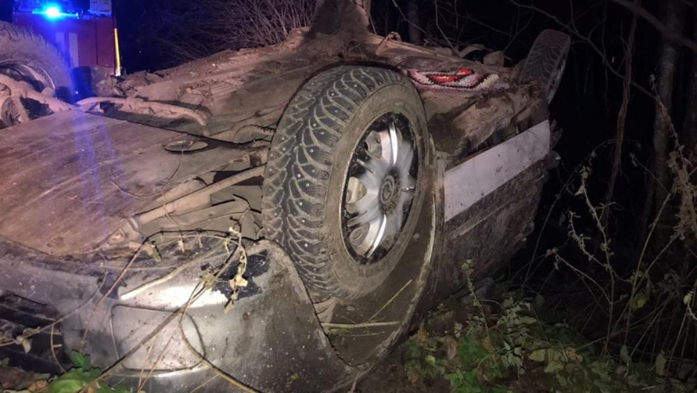В Клетнянском районе погиб водитель перевернувшегося автомобиля Lada